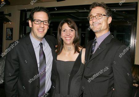 Stock Photo of Ian Deitchman, Kristin Rusk Robinson and Barry Josephson