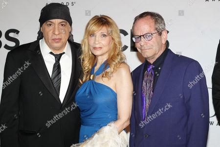 Stock Picture of Steven Van Zandt, Maureen Van Zandt, Marc Brickman