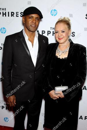 Tony Briggs (Writer) and Laurel Robinson (Orig. Member The Sapphires