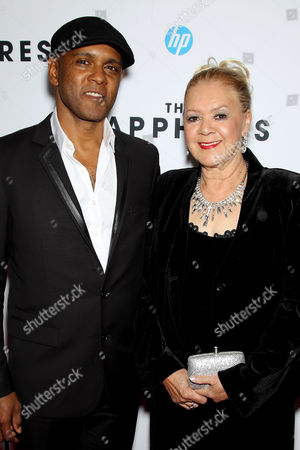 Stock Photo of Tony Briggs (Writer) and Laurel Robinson (Orig. Member The Sapphires