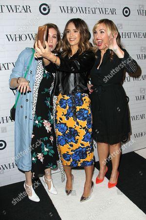 Hillary Kerr, Jessica Alba and Katherine Power