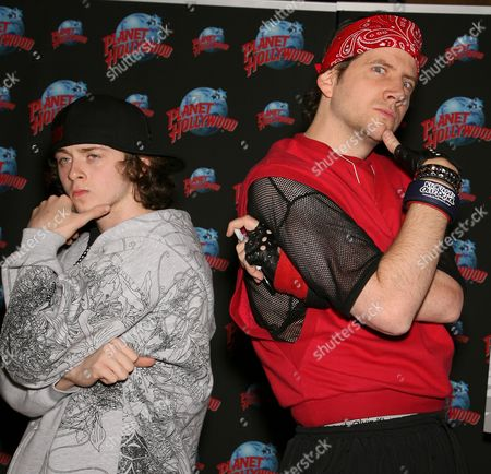 Jamie Kennedy and Jesse 'Casper' Lee Brown
