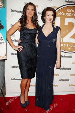 Brooke Shields (Event Host) and Rosemary Ellis (Editor-in-chief