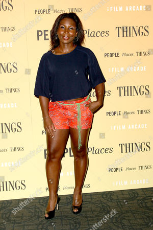 Editorial image of 'People Places Things' film premiere, New York, America - 10 Aug 2015