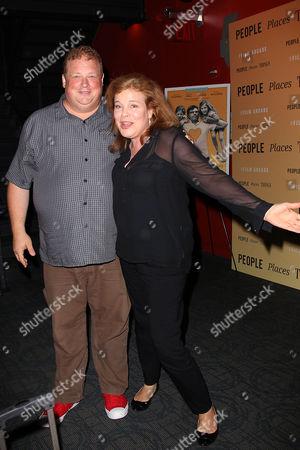 Joel Garland and Catherine Curtin