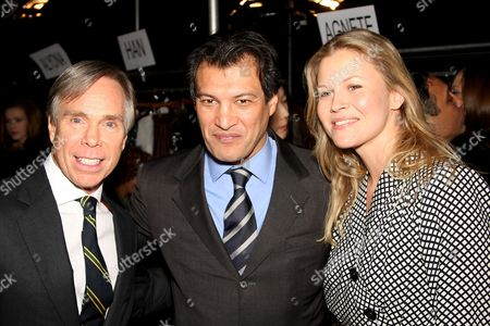 Editorial picture of Celebrities at Tommy Hilfiger show, Mercedes-Benz Fashion Week, Autumn / Winter 2008 / 2009, Grand Promenade Avery Fisher Hall at the Lincoln Center, New York, America - 07 Feb 2008