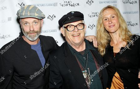 Charlie Paul (Director), Ralph Steadman and Lucy Paul (Producer)