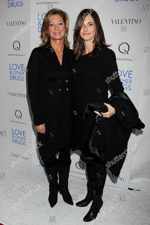 Elizabeth Gabler (President Fox 2000) and Carla Hacken