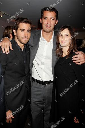 Jake Gyllenhaal, Scott Stuber (Producer) and Carla Hacken (Fox