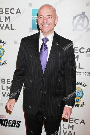 Editorial picture of 'The Avengers' film premiere, Tribeca Film Festival, New York, America - 28 Apr 2012
