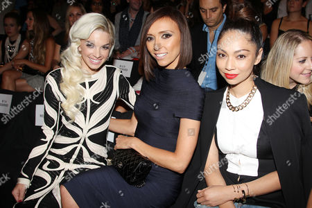 Stock Photo of Lauriana Mae, Giuliana Rancic and guest