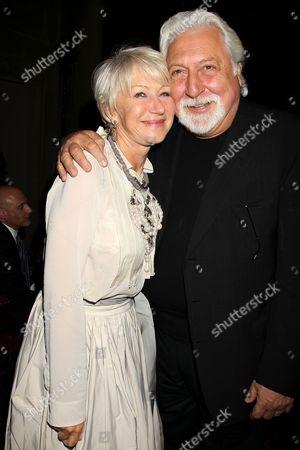 Helen Mirren and Michael Tadross