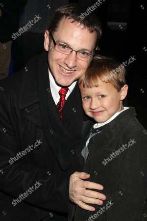 Colin Baiocchi with his Father
