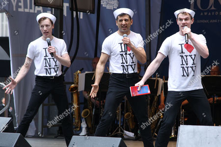 Cory Lingner, Tony Yazbeck and Jay Armstrong Johnson (On the Town)