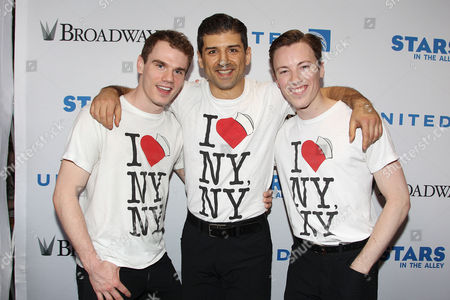 Jay Armstrong Johnson, Tony Yazbeck and Cory Lingner (On the Town)