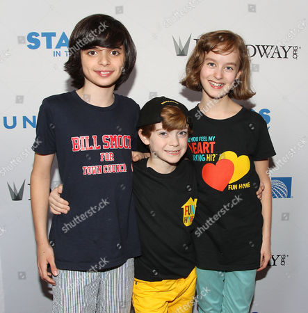 Stock Picture of Oscar Williams, Zell Steele Morrow and Sydney Lucas (Fun Home)