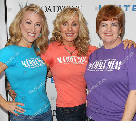 Alison Ewing, Judy McLane and Mary Callanan (Mamma Mia!)