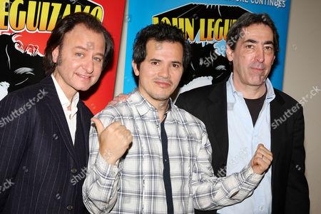 Stock Photo of Fisher Stevens (Director), John Leguizamo and Arnold Engelman (Producer)