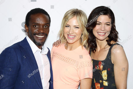 Chris Chalk, Beth Riesgraf and Lauren Stamile