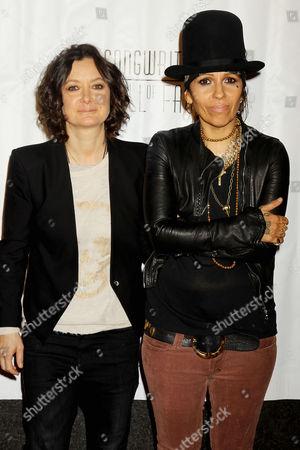 Stock Photo of Melissa Gilbert and Linda Perry