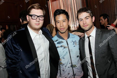 Stock Image of Justin Campbell, Jared Eng, Chace Crawford