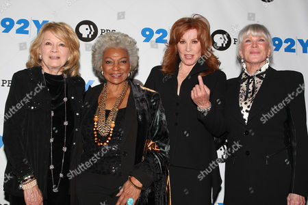 Angie Dickinson, Nichelle Nichols, Stefanie Powers and Linda Evans