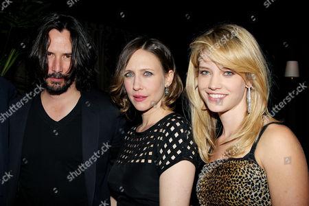 Keanu Reeves, Vera Farmiga and Julie Ordon