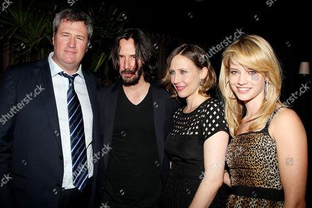 Jordan Schur, Keanu Reeves, Vera Farmiga and Julie Ordon