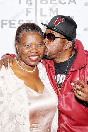 Malik Isaac Taylor with mother