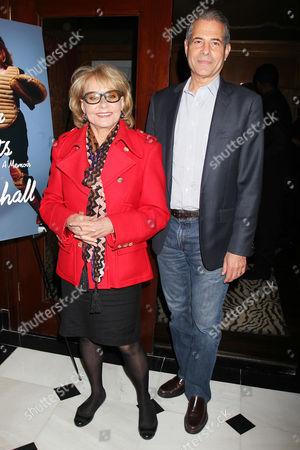 Barbara Walters and Richard Stengel