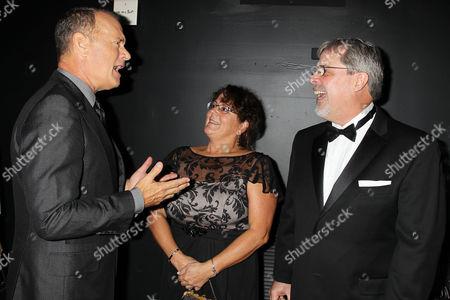 Tom Hanks, Andrea Phillips, Capt. Richard Phillips