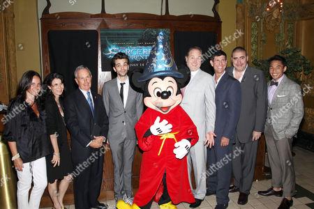 MT Carney,Katherine Oliver,Mayor Michael Bloomberg,Jay Baruchel,Sorcerer Mickey Mouse,Jon Turteltaub (director) ,Rich Ross (Chairman of The Walt Disney Studios),Alfred Molina,Gregory Woo