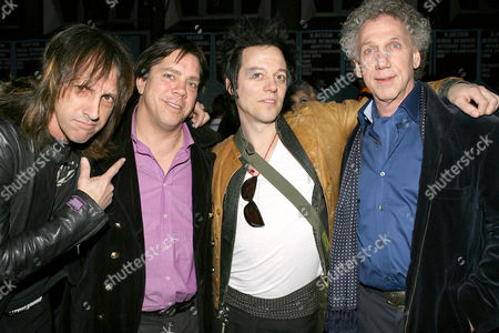 Stock Picture of Mark Weiss, Andy Hilfiger, Michael H and Bob Gruen