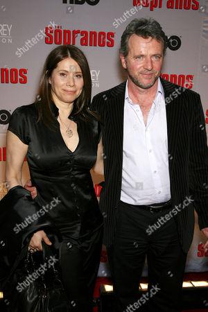 Aidan Quinn with Elizabeth Bracco