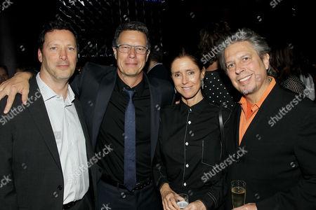 Andrew Karpen (CEO Bleecker Street), Gavin Hood (Director), Julie Taymor, Elliot Goldenthal