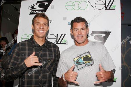 Corey Lopez, Surfer/O'Neill Team Rider and James Pribram