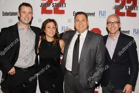 Stock Image of Matt Bean, Melissa Mattiace, Jonah Hill and Jess Cagle