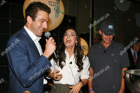 Justin Gimelstob, Katie Lee and Andy Roddick