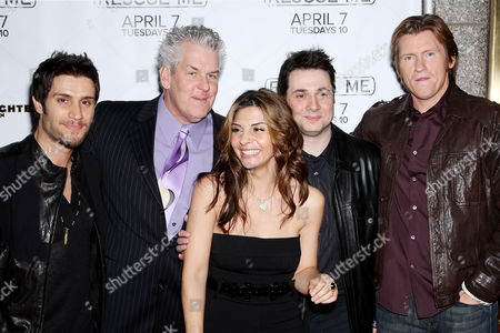 Mike Lombardi, Lenny Clarke, Callie Thorne, Adam Ferrera and Denis Leary