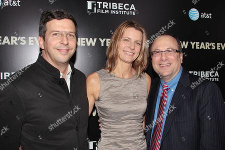 Stock Photo of Tim Thompkins, Lori Ruinondo and Jeff Strauss