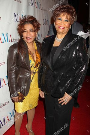 Stock Photo of Valerie Simpson and Vy Higgensen