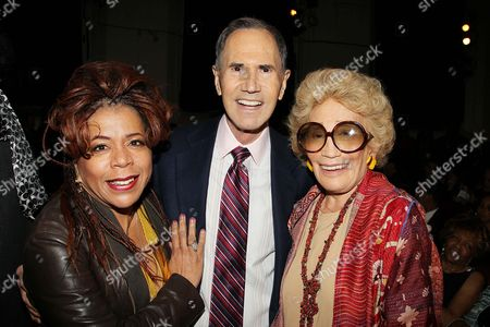 Valerie Simpson, Freddie Gershon and Myrna Gershon