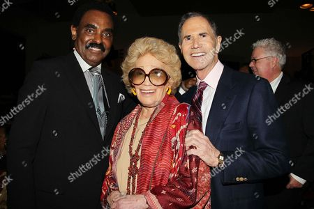 Chuck Jackson, Myrna Gershon and Freddie Gershon