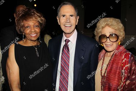 Cissy Houston, Freddie Gershon and Myrna Gershon