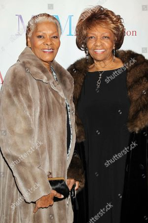Dionne Warwick and Cissy Houston