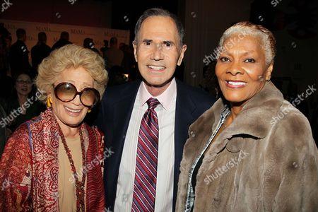 Myrna Gershon, Freddie Gershon and Dionne Warwick