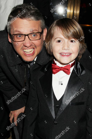 Stock Picture of Adam McKay and Judah Nelson