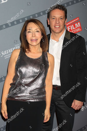 Stock Photo of Paula Wallace (President and Founder of Savannah Film Festival) and Glenn Wallace