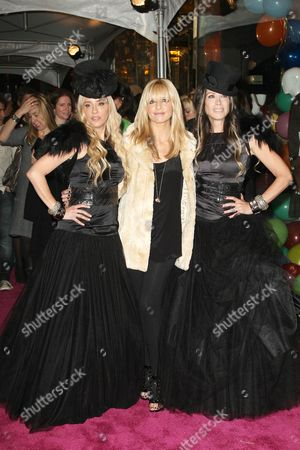 Sarah Michelle Gellar and Juicy Couture founders Pamela Skaist-Levy and Gela Nash-Taylor