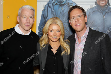 Anderson Cooper, Kelly Ripa and Director Lee Hirsch